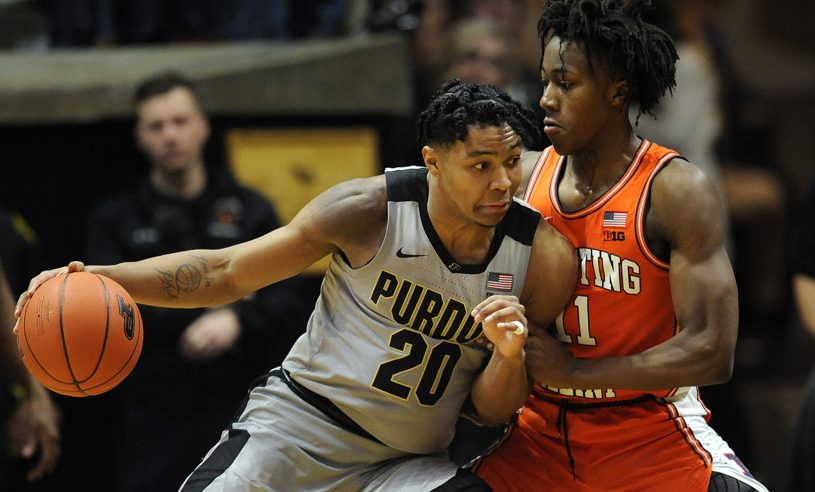 Purdue is a face for Parity in College Basketball