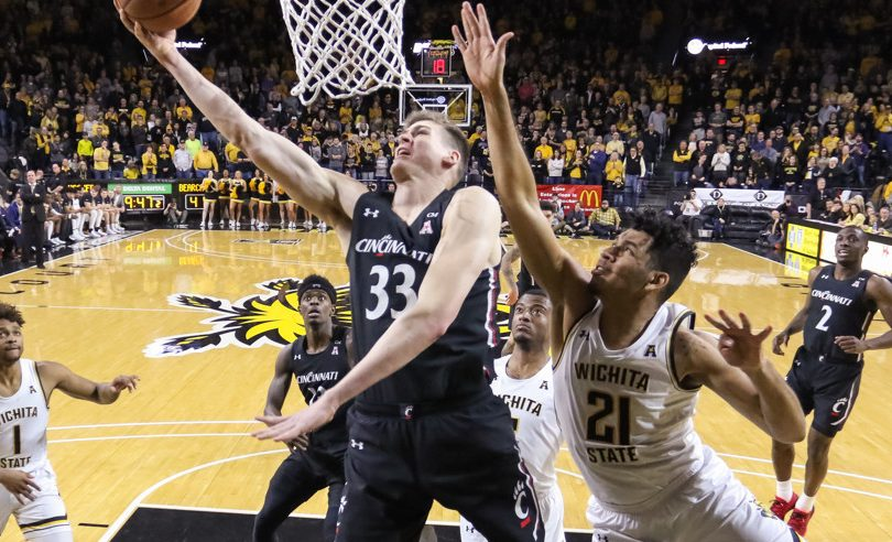 Wichita State and Cincinnati are both on the 2020 NCAA Tournament Bubble