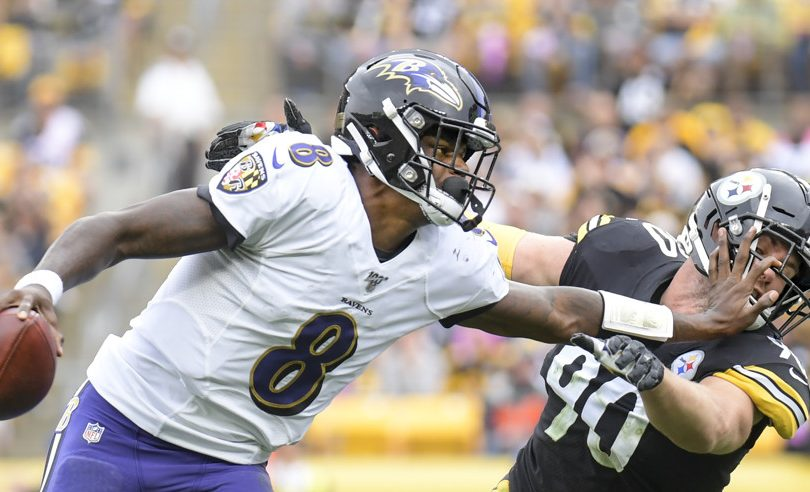 Lamar Jackson Baltimore Ravens