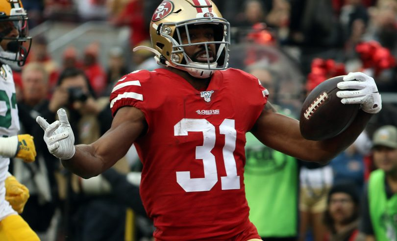 Raheem Mostert features in a lot of Super Bowl prop bets